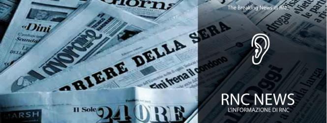 L'ULTIMA EDIZIONE DI RNC NEWS   (Edizione delle 17.00)