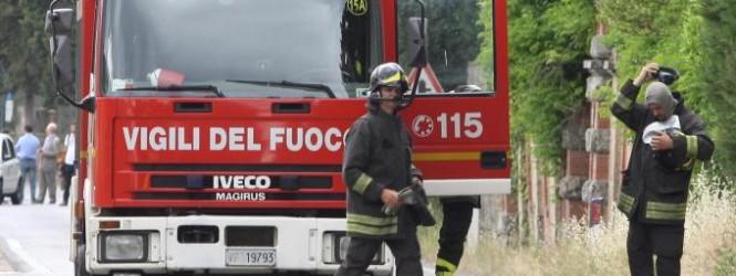 Incendio alla Pro Loco di Orune