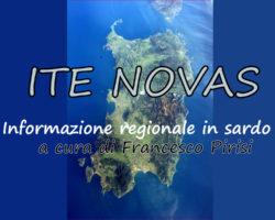 Ite Novas Pomeriggio – Notiziario in sardo di Venerdi 29 Marzo 2019 edizione delle 19.00