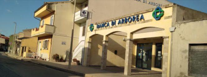 Rapina alla filiale di santa Giusta della Banca di Arborea