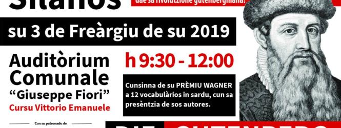 PREMIO ML WAGNER 2019: Dodici vocabolari in sardo premiati domenica 3 Febbraio 2019 a Silanus.