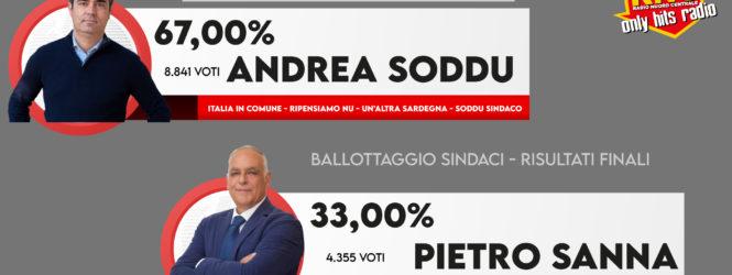 ANDREA SODDU riconfermato SINDACO DI NUORO