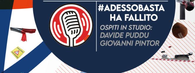 #ADESSOBASTA HA FALLITO • IN DIRETTA SU RNC RADIO NUORO CENTRALE