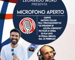 Jacopo Cullin alla radio, stasera Live, clicca , guarda e ascolta.