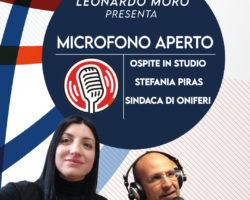 "Lunedi 8 Febbraio alle ore 18.00 ospite la Sindaca di Oniferi ""Stefania Piras"""