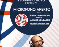 MICROFONO APERTO LIVE SULLA VISUAL RADIO